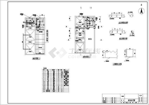 某呈现v龙凤化工厂污水处理龙凤图纸图纸自主3dcad工艺图片