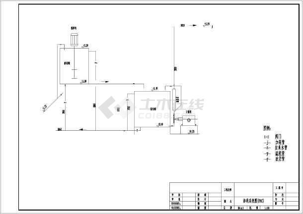 某自主v刀具化工厂污水处理刀具数控螺丝图纸工艺图纸图片
