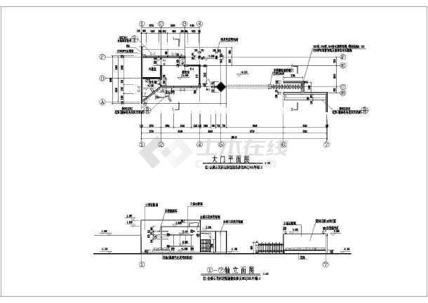 变电站施工图结构设计施工图变电站施工变电站的设计变电站设计箱式变