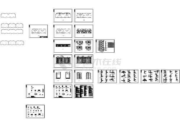 所属分类: 建筑图纸   共1张立即查看 某古建双亭建筑图中国古建图