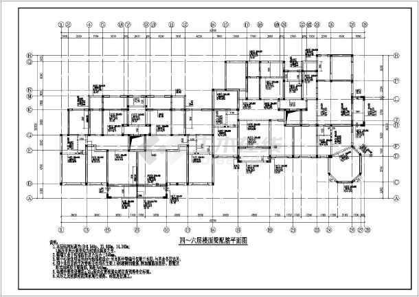 某地8层砖混结构住宅楼建筑结构施工图