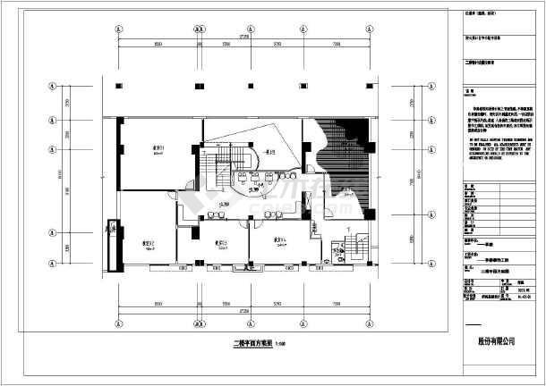 某地全套某商铺两层钢结构阁楼设计图纸图片