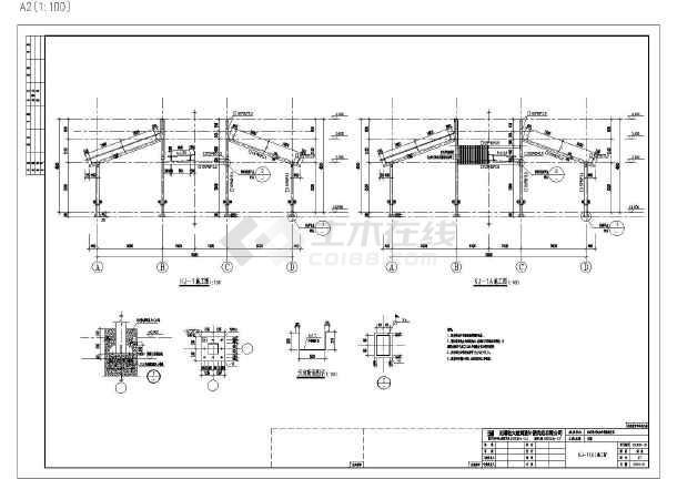 家港新建框架9米x44米钢结构命令v框架校区车cad中rec是什么基础图片