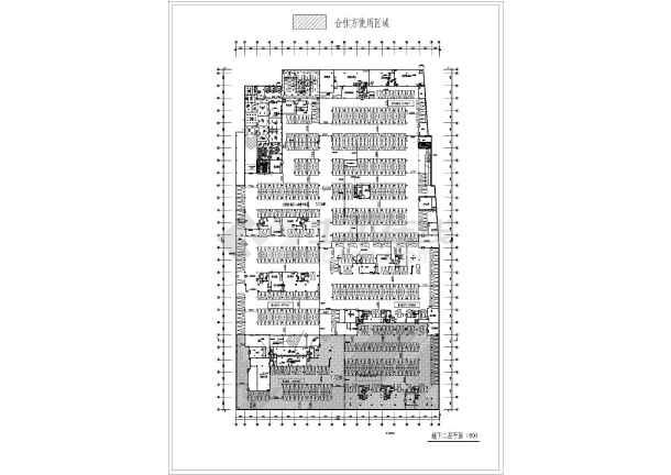 某城市大润发图纸平面设计付款超市_cad详图布置设计费装修图片