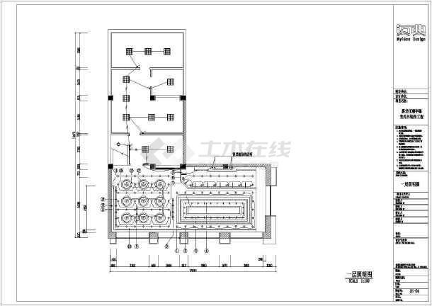 蛋糕店平面图b35j107-图纸图片