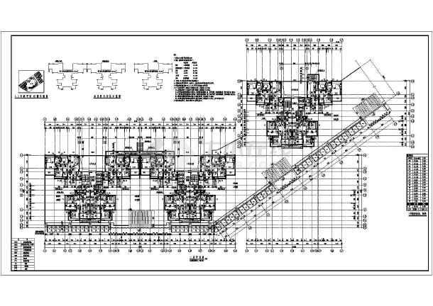 某18层高层商住楼建筑施工设计图
