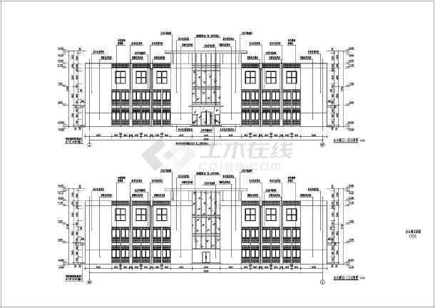 三层办公楼完整施工图