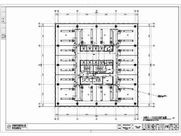 某地27层vrv多联机系统空调设计图纸