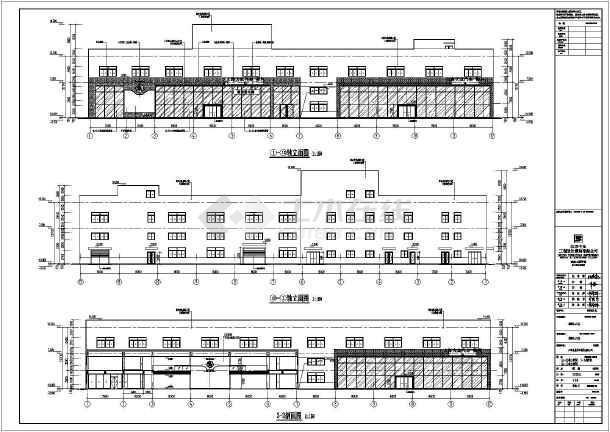 某地二层框架结构斯柯达汽车销售及维修车间建筑施工
