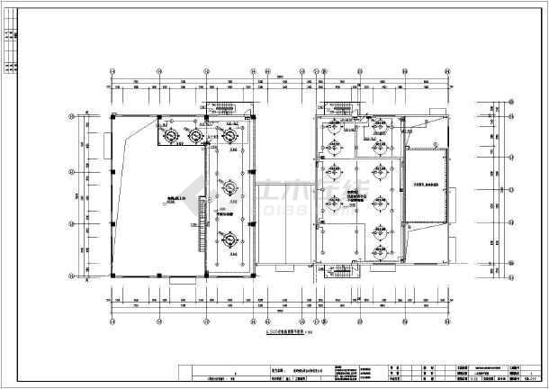 某工厂全套电气设计图纸-图1