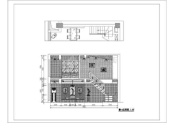 二层欧式别墅设计施工图(含效果图)