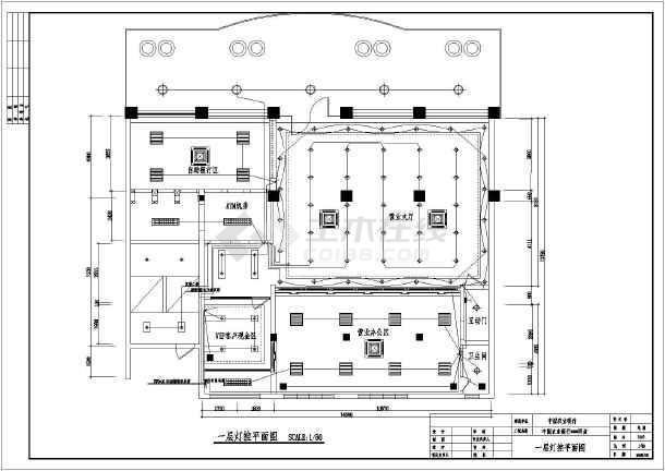 室内外装修电气(综合布线)设计图