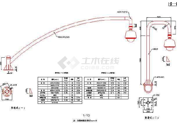 道路交通图纸图纸cad施工图(招标别墅、文件及8x10三层带车库设施工程图片