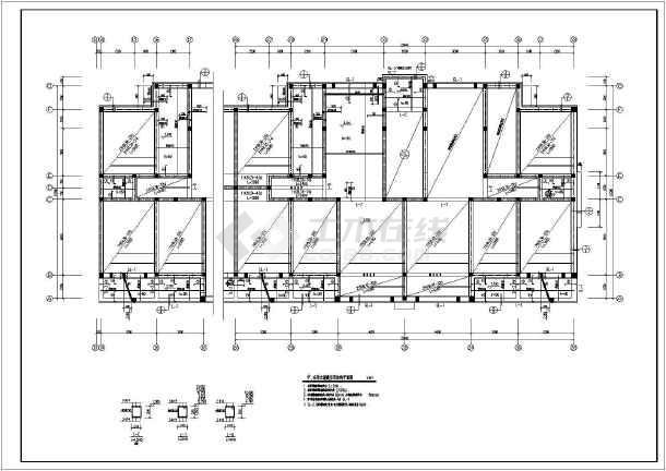 某地多层砖混结构住宅楼结构设计施工图