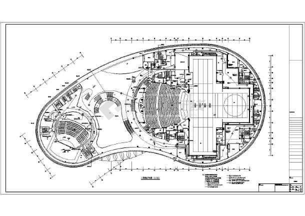 某4层大剧院电气弱电部分设计施工图