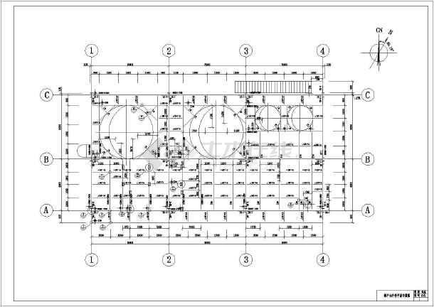 某地区钢结构图纸(钢结构+钢板花纹)结构图_c储藏室怎么建筑看平台图片