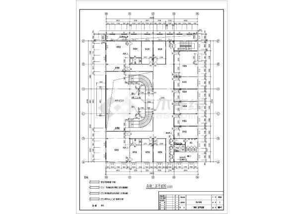 某地标准钢结构厂房建筑设计施工图