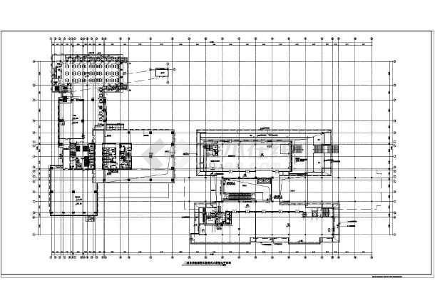 某酒店二十二层框架结构大空间智能灭火系统设计图