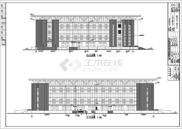 某地框架结构体育馆建筑方案设计图图片