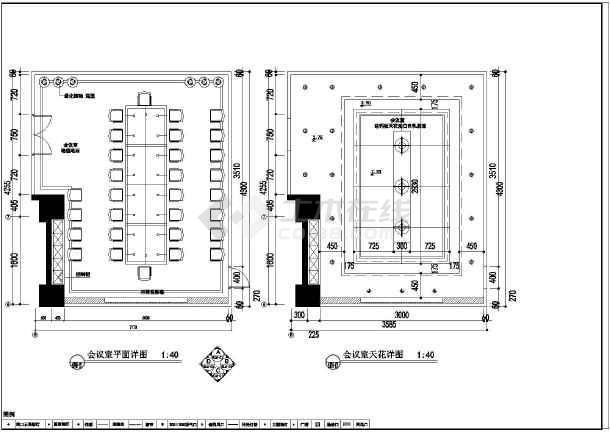 某地高层酒店室内装修及电气设计施工图 图1高清图片