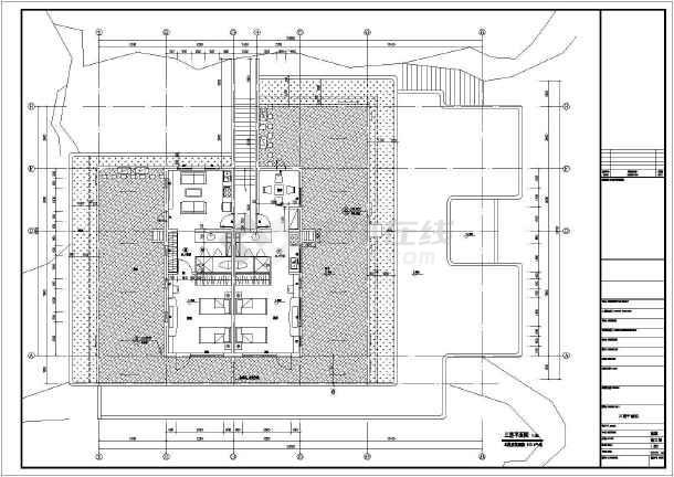 流水别墅建筑方案