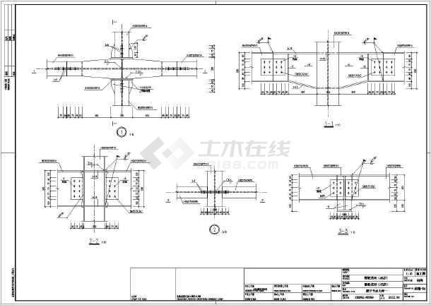 厂房结构设计 框架结构厂房 雪铁龙4s店全套钢结构设计施工图  简介