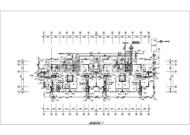 某10层住宅给水排水设计图图片