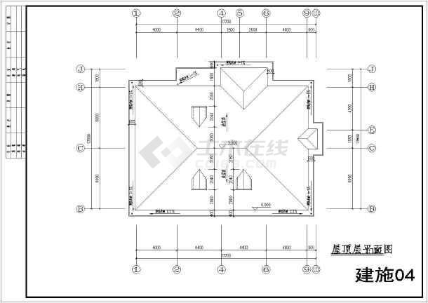 湖南衡阳某私人农村2层小报告共享施工图建筑别墅别墅图片