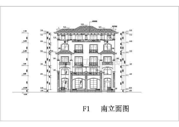 44的坡屋面简欧式住宅小区方案设计文本