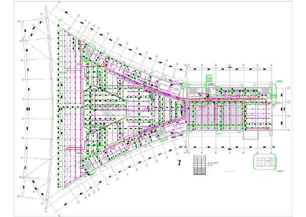 某汽车交易大厅给排水设计详细图纸