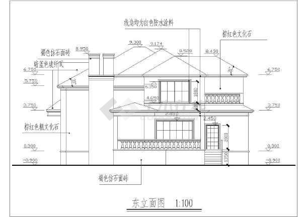 别墅设计图 【东北】352平米精致别墅设计带效果图    价格: 60土木币