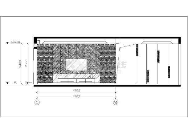 某地新中式三室两厅室内装修全套施工图纸  投稿网友:为房子 上传时间