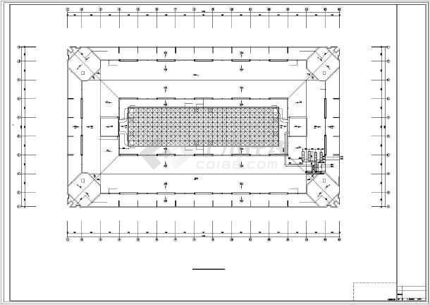 小型展览馆平面图