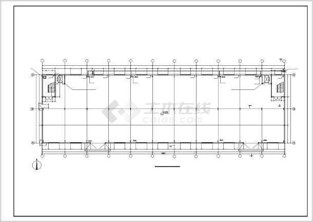 【山西】某地二层钢框架结构设计施工图纸