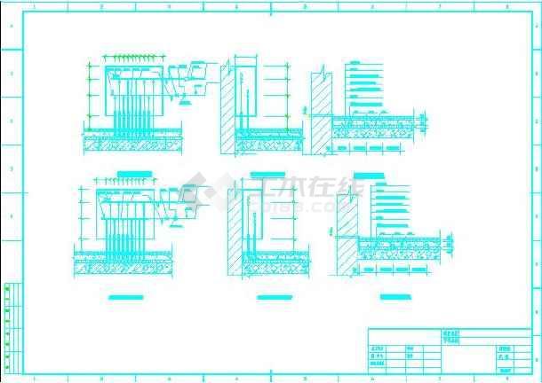 住宅地板辐射采暖平面图(某学生毕业设计)图片3