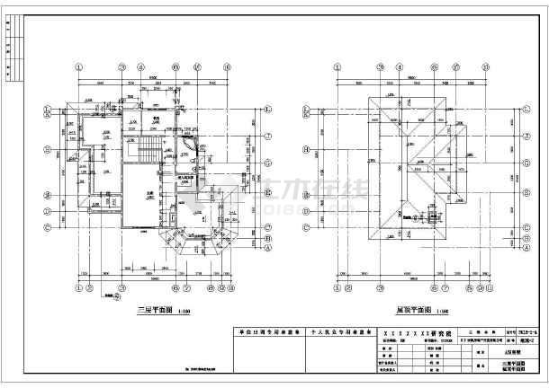 20米农村自建房设计图第4张大图