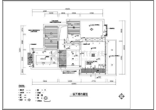 某别墅建筑装修设计图纸(共8张)