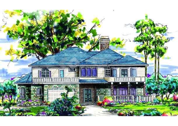 别墅手绘-图3