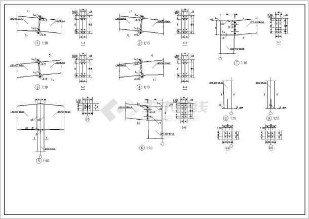 某单层门式刚架仓库钢结构设计施工图