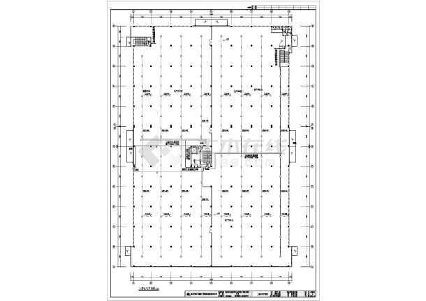 某二层大空间厂房电气设计全套施工图