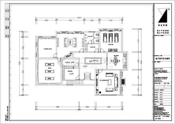 某两层带地下室别墅室内装修设计施工图
