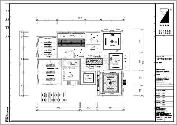 某两层带地下室别墅室内装修设计施工图别墅金沙丽江图片