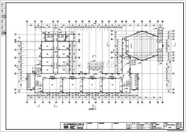 图纸 教育建筑 小学教学楼 浙江初级中学3层砖混结构教学楼加固设计方图片