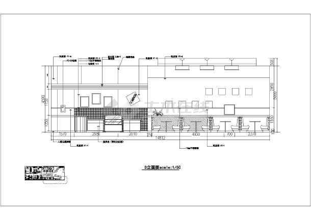 全套达美乐义乌店室内新区装修图_cad图纸下快速路比萨图纸疏港图片