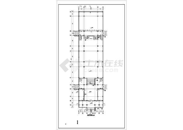 某套完整的结构建筑设计锅炉施工图_cad祠堂结构图纸图纸热风图片