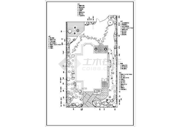 10种庭院别墅方案设计绿化楼盘及施工图最新石家庄景观别墅图片