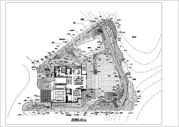 10种别墅方案庭院绿化设计别墅及施工图二期景观世茂图片