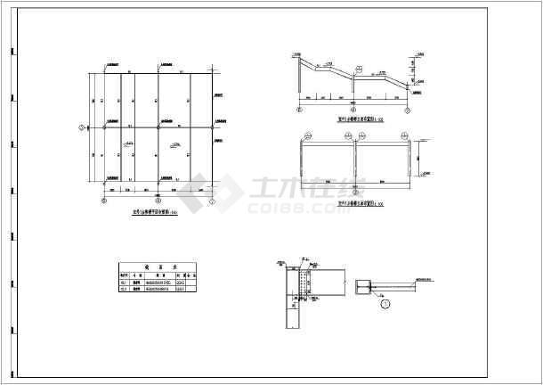 某地钢结构焊接及图纸连接螺栓图纸_cad幻想装备节点图纸神域60图片