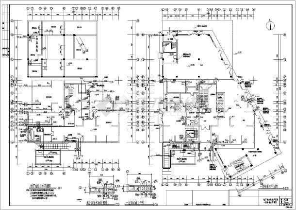 某18层商住楼给排水设计施工图纸