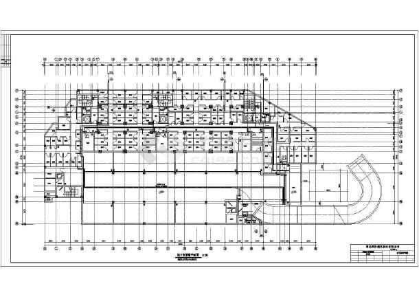 某十八层住宅楼给排水设计成套图纸-图1
